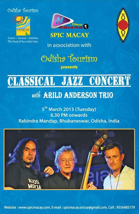 Classical Jazz Concert 2013 with Arild Anderson Trio