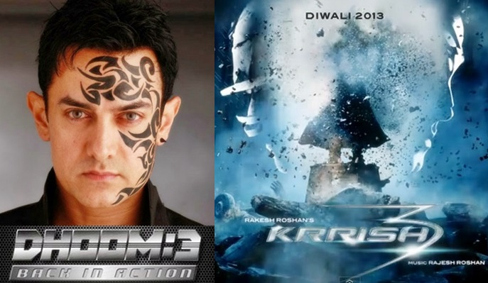Dhoom 3 + Krrish 3