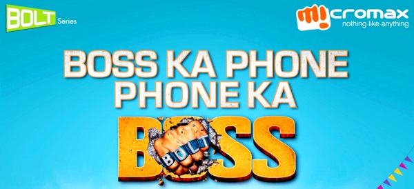 Micromax Released BOLT Series Mobile Phones in Durga Puja 2013