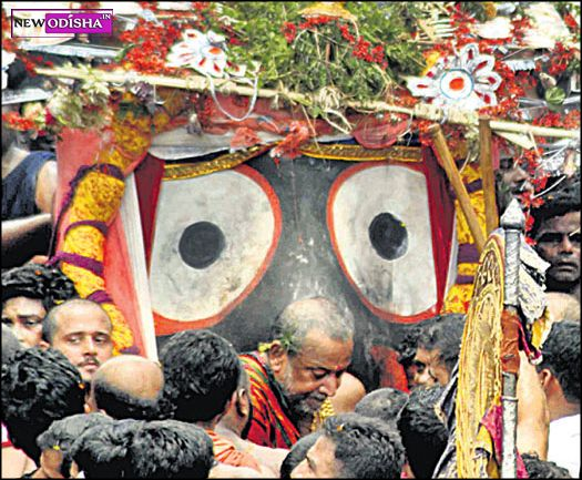 Lord Jagannath Pahandi