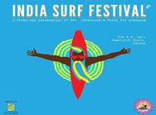 India Surf Festival 2015 at Ramchandi beach, Odisha